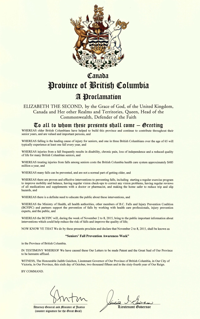 2015-Seniors'-Fall-Prevention-Awareness-Week-Signed-Proclamation